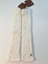 Auth NWT LORO PIANA Mckinley Fingerless Cable-Knit BABY Cashmere Gloves One size