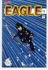 EAGLE (1986)  #1 Crystal Comics  VF/NM 9.0