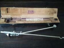 Antico compasso con scatola old english compass