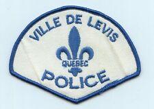Ville de Levis Police, Quebec, Canada HTF Vintage Uniform/Shoulder Patch