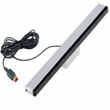 Wired Infrared Ultra Sensor Bar Extended Play Range For Nintendo Wii Control New