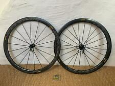 Mavic Cosmic pro carbon SL UST (tubeless) wheelset, shimano freehub