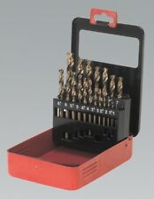 Sealey Tools Cobalt Drill Bit Set 19pc Metric AK4701