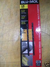 """1/8"""" Drill Bit Blu-Mol Black Oxide 10-Packs  #6629, 20 Drill Bits"""