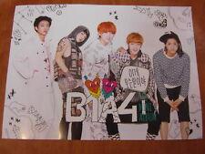B1A4 - 4th Mini Album [OFFICIAL] POSTER *NEW* K-POP