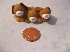 BARBIE FISHER PRICE LOVING FAMILY  DOLL HOUSE PETS PUPPIES 3 DOGS