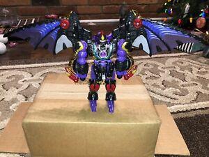 2001 Transformers RID Ultra Class Megatron Figure Incomplete Predacon Hasbro