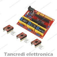 CNC Shield V4 3 A4988 Driver Board Nano 3.0 Kit A4988 (Arduino-Compatibile)