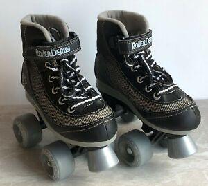 Firestar Roller Derby Quad Roller Skates. Size Junior 13. Jr Skates