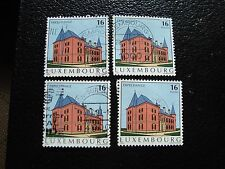 LUXEMBOURG - timbre yvert et tellier n° 1325 x4 obl (A30) stamp (E)