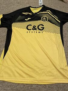 Dumbarton Home Shirt 2020/2021 Size XXL More L  Tight Fit Brand New Never Worn
