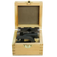 1 58 X 1 34 X 2 34 Hardened And Ground Steel V Block And Clamp Set
