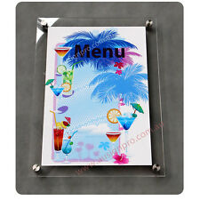 A3 Clear Acrylic Sandwich / Poster Holder /  Sign Holders / Perspex Frame