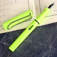 Einfache Schüler Stift Füller Stift 0.5mm Schreibwaren Schule Zubehör Sehr flYfE