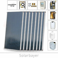 Solarbayer Solarset/Forfait solaire 16,16 m² Installation solaire pour
