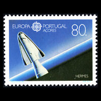 """Azores 1991 - EUROPA Stamps """"Space Travelling"""" - Sc 395 MNH"""