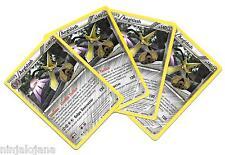 Pokemon 4 AEGISLASH 85/146 Raras x4 Español Incoloro RARA