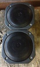 "NEW PAIR Old School Alphasonik 5.25"" Coaxial speakers,Rare,Vintage,NOS,GERMANY"