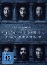 Game of Thrones Staffel 6 NEU OVP 5 DVDs