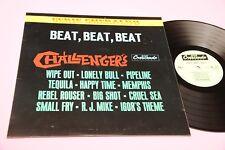 THE CHALLENGERS LP BEAT BEAT BEAT ORIG ITALY 1967 MINT !!!  TOOOP RARE DEBUT ALB