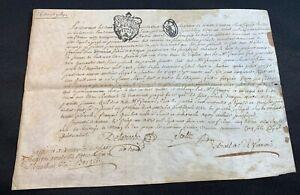 ANTIQUE PARCHMENT 1769