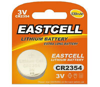 1 x CR2354 3V Lithium Batterie ohne Vertiefungsrille  EASTCELL