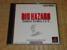 PS1 Bio Hazard 1 Director's Cut Biohazard Japan PS PlayStation 1 F/S