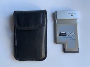 Creative Sound Blaster X-fi Xtreme Audio Notebook Laptop External Card SB0710