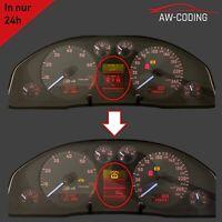 Audi A6 S6 4B C5 FIS Display LCD MFA Pixelfehler Reparatur Tacho defekt