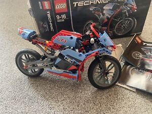 Lego 42036 motorcycle 2 in 1 Complete with Box and Instructions
