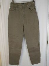 LRL Lauren Ralph Lauren Womens 6 Green Label Gray Straight Leg Jeans Classic