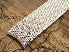 Speidel Thinline White Gold Fill Vintage Expansion Watch Band Men's NOS 17.5mm