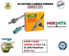 NGK NTK O2 SONDA LAMBDA PER FORD C-MAX GRAND 1.6 Ti LPG Flexifuel 2010-on POI