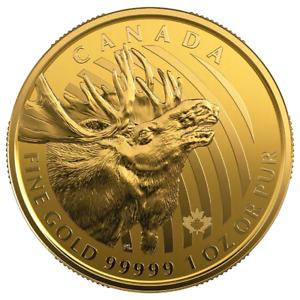 Kanada 200 Dollar 2019 - Kanadischer Elch - 1 Oz Gold ST