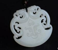 Beast jade  100% Natural jade pendant Lucky Amulet  jewelry Necklace Collection