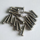 20pcs Stainless Steel M3 Round Head Screws For RC Car