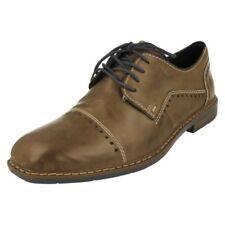 Scarpe classiche da uomo grigi marca Rieker