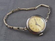 schöne alte Armbanduhr ca.20er Jahre Silber 800/- vermutl. Benrus