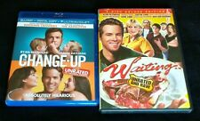 THE CHANGE-UP Blu-ray + WAITING DVD + FREE SHIPPING!! #RyanReynolds #Comedy #D2D