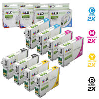 LD Reman Ink Cartridge for Epson T069 Set of 8: T069120 T069220 T069320 T069420