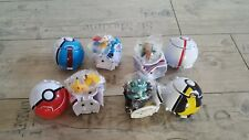 Pokemon Go Pokeball & Figur Great Ball Pop-up bei Wurf wird geöffnet Neu 4 Stück