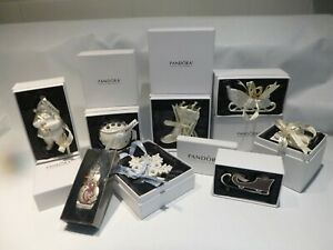 Pandora Ornaments Christmas Holiday Tree Various NEW