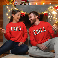 Chill Red Sweatshirt Funny Cute Sundays Mens Ladies Sweater Top Hoodie Girl A108