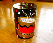 AUTHENTIC TIMMY WOODS COFFEE CUP CAFE JEWELED MINAUDIERE CLUTCH SHOULDER BAG