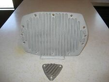 Vintage Reproduction Finned Cast Blower Rear & Front Cover  6 71, 871 6v71 8v71