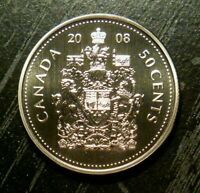 CANADA 2008 50 CENTS *SPECIMEN*- FROM RCM SET