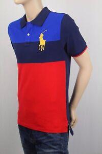 Childrens Polo Ralph Lauren Navy Red Big Gold Pony Shirt NWT