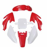 Red Plastics Mud Guard Fairing Fender Kit Honda CRF50F 2005-2016 Pit Dirt Bike