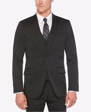 $198 Perry Ellis Men's Extra Slim-Fit Travel Luxe Black 46/Reg Techno Jacket