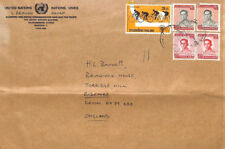 BT9 Thailand United Nations Bangkok Commercial Air Mail Cover {samwells}PTS